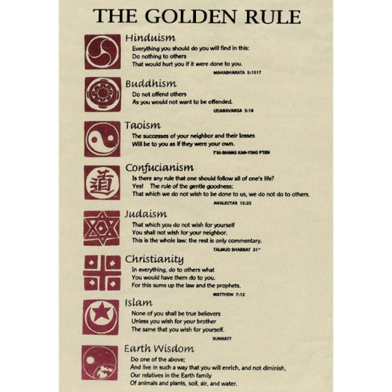 golden rule in other religions