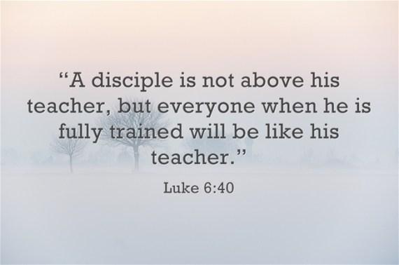 Luke 6 40