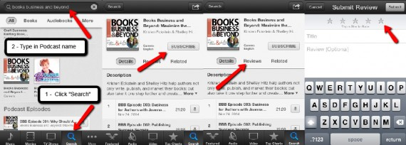 review podcast on iphone ipad