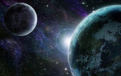 Genesis 1:14-19 Sun moon and stars