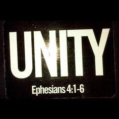 Unty in Ephesians 4