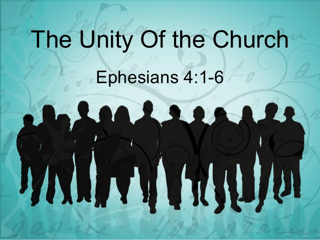 untiy in the church Ephesians 4:1-6