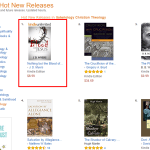 """Thank you! My new book is the #1 Hot New Release in """"Theology – Soteriology"""" on Amazon"""