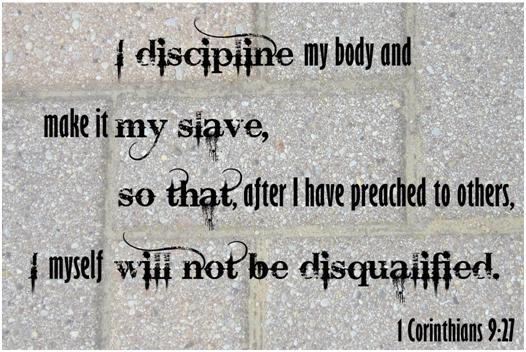 1 Corinthians 9:27