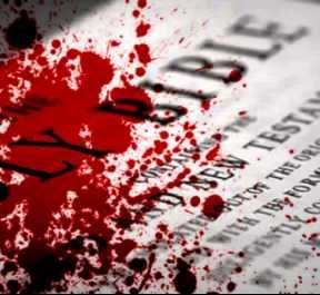 why is the Bible so bloody and violent