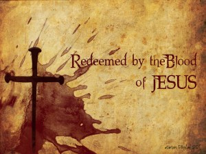 blood of Jesus redeems us