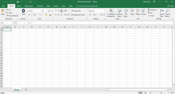 Excel Spreadsheet faith
