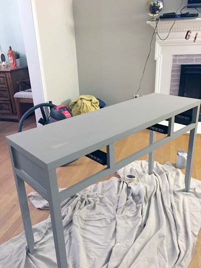Console Table (During)