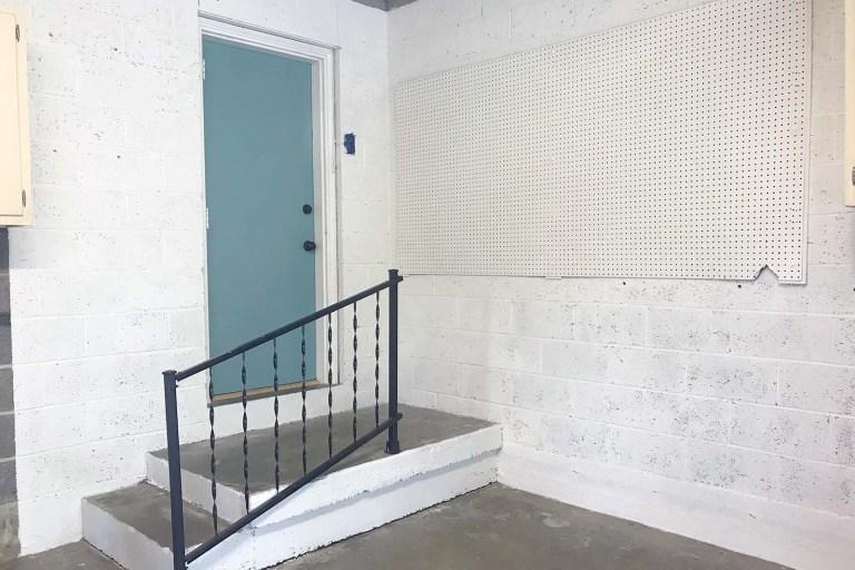 Garage Walls Painted