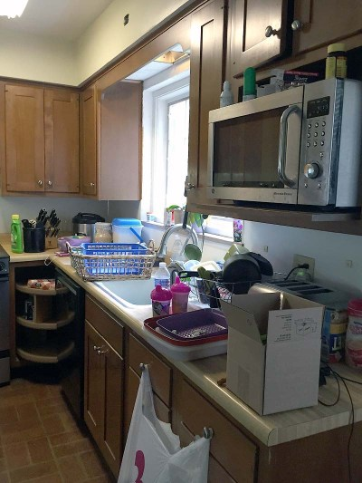 Before Kitchen Angle