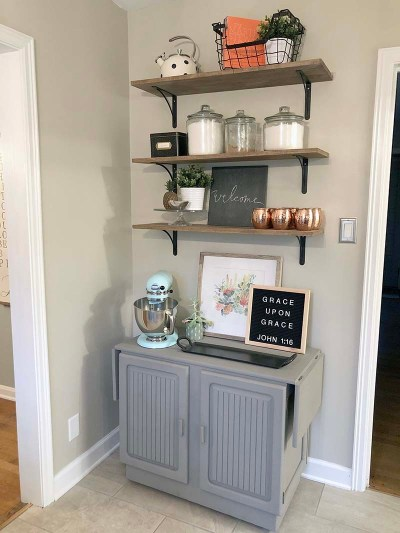Shelves Angle