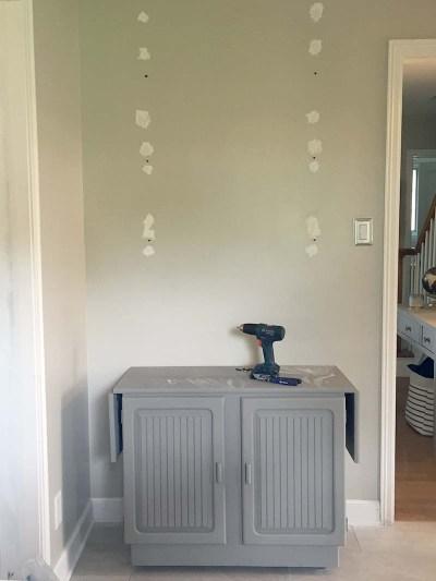 Wall Shelves Holes