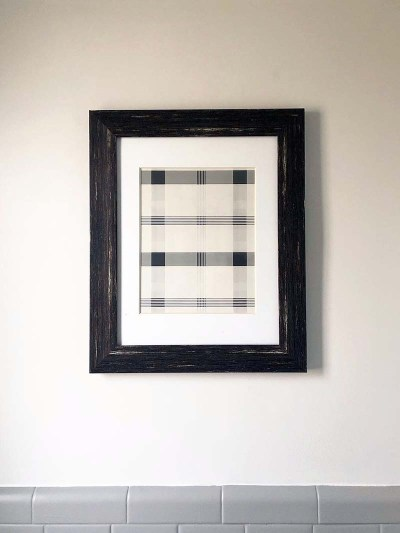 Framed Wrapping Paper