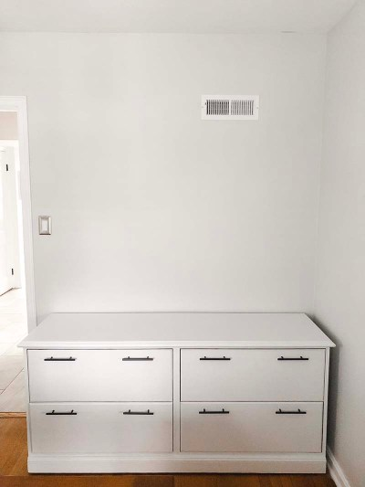 Chalk-Painted Pantry