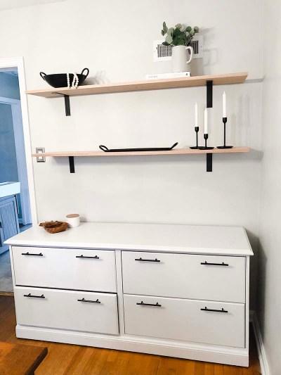 Wall Shelves Up