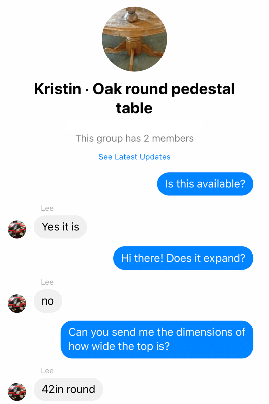 FBMP Asking if Available