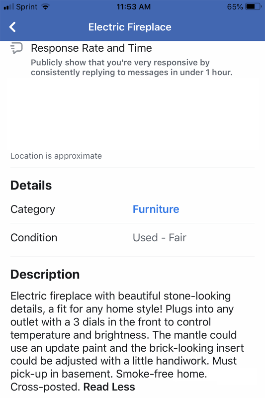 Fireplace FB Listing 2