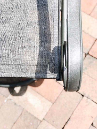 Patio Chair After Metal Arm