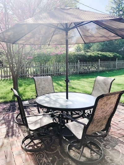 Patio Furniture Dining Before