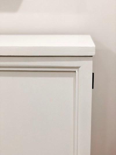 Fusion Paint Corner TV Console