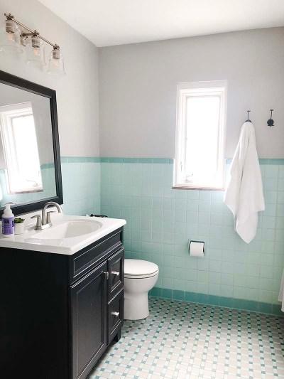 Teal Bathroom Hooks