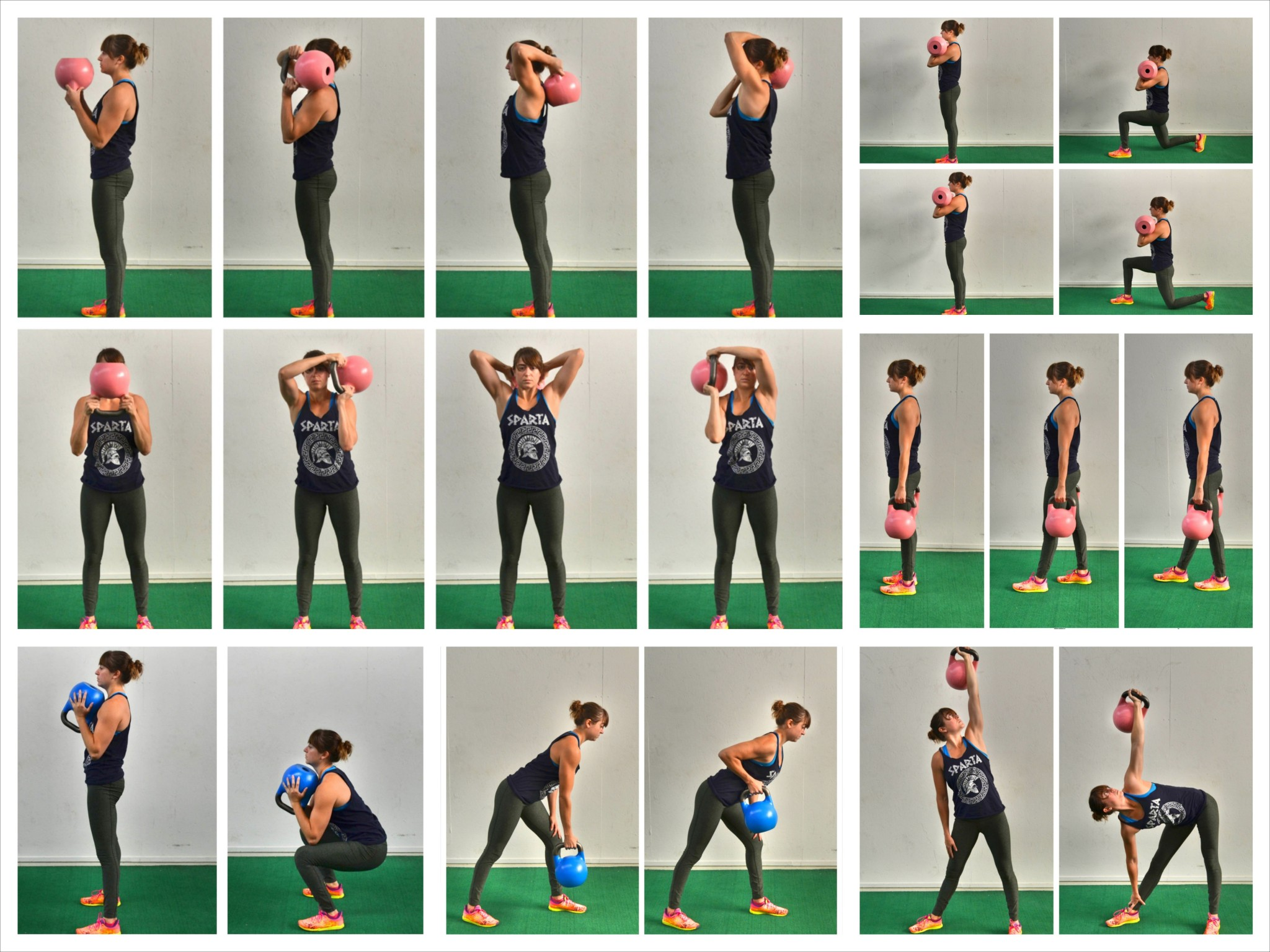 Free Kettlebell Workout Routines