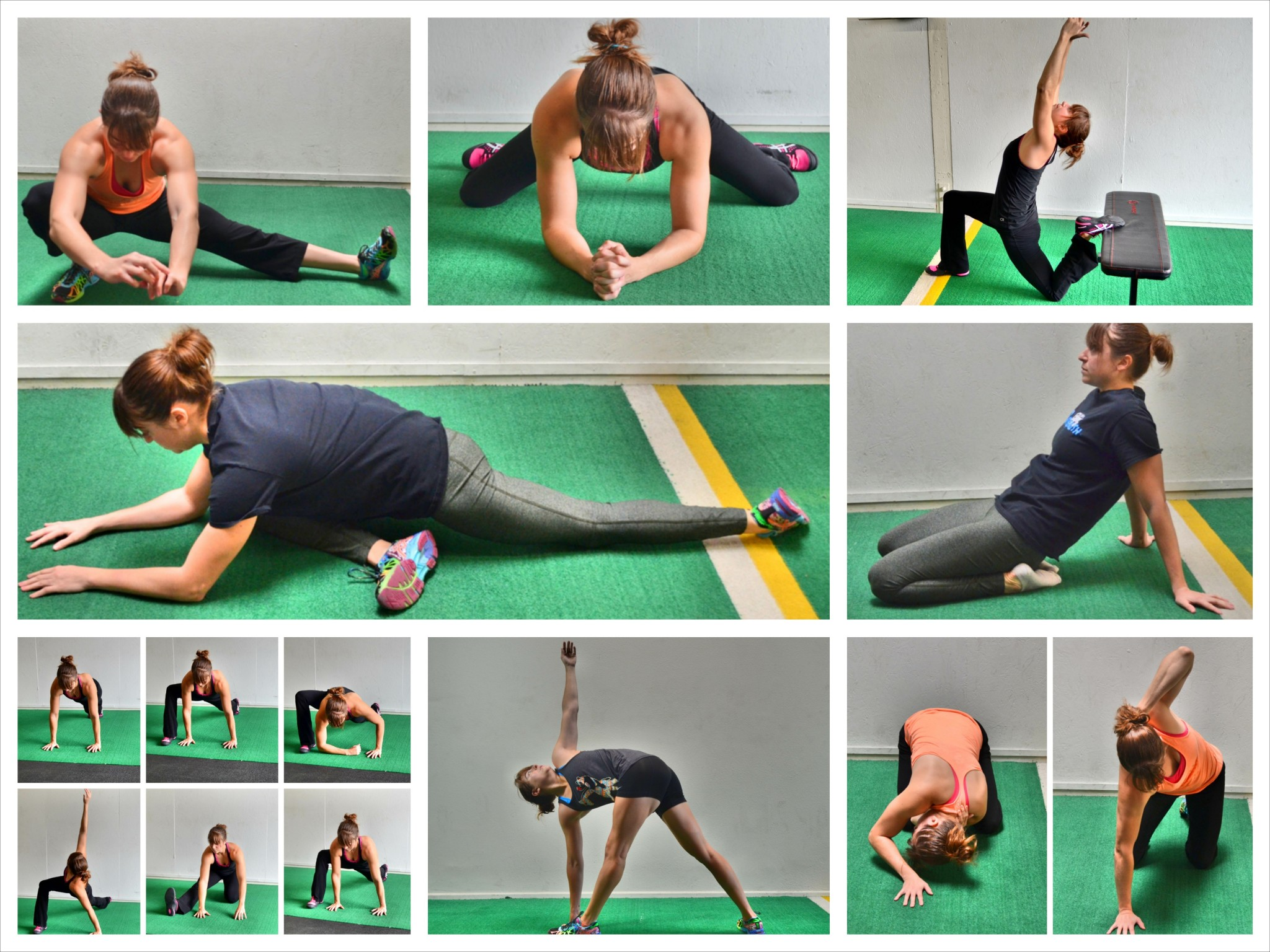 35 Stretches