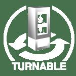12 turnable