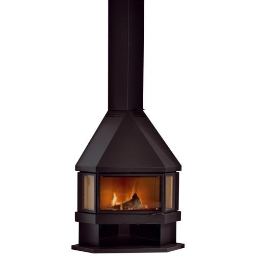 rocal estela corner wood stove