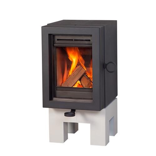 wanders oak wood stove anthracite white