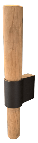 Wanders Pecan Wooden Stick Handle