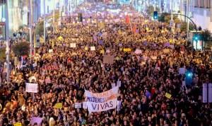 Manifestación 8 marzo 2017 Madrid