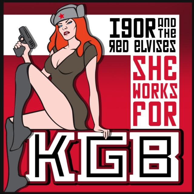 SHE WORKS FOR KGB