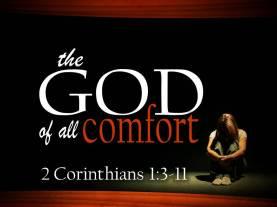 God of comfort