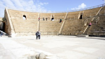 Roman theatre near Herods palace