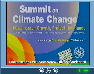 United Nations live Broadcast