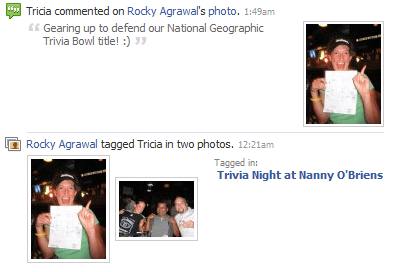 Comments and tagging in Facebook Photos