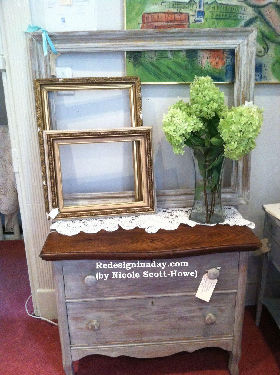 Gray Wash Pine Dresser