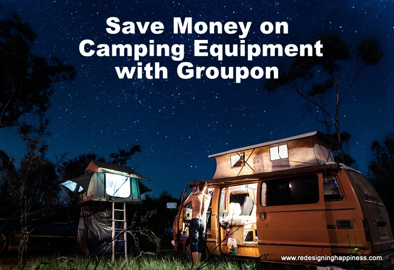 Save money on Camping equipment with Groupon