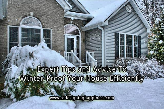 Expert Tips and Advice to Winter-Proof Your House Efficiently