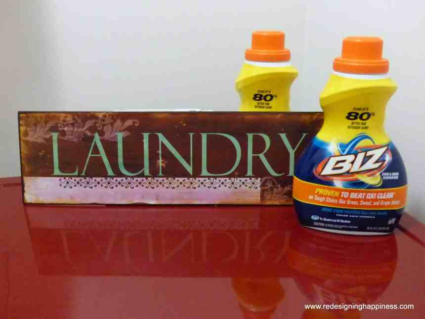 Introducing Biz Stain & Odor Remover, laundry booster, stain remover