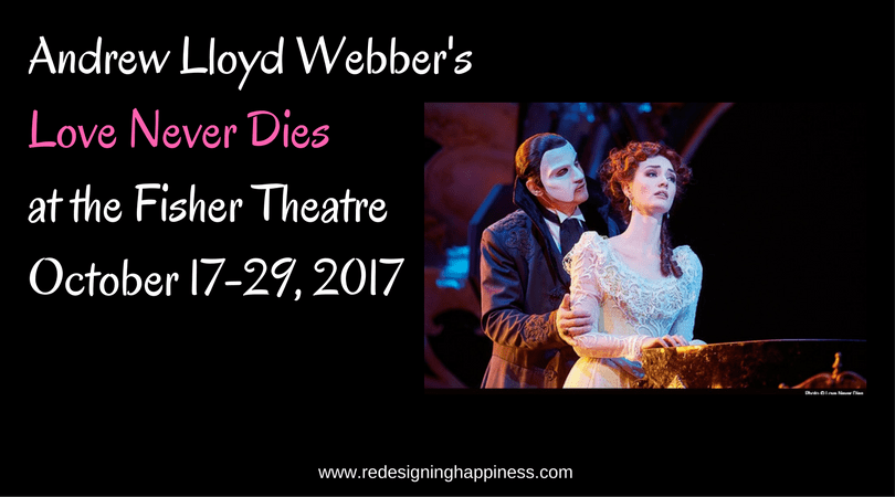 Andrew Lloyd Webber's Love Never Dies at the Fisher Theatre