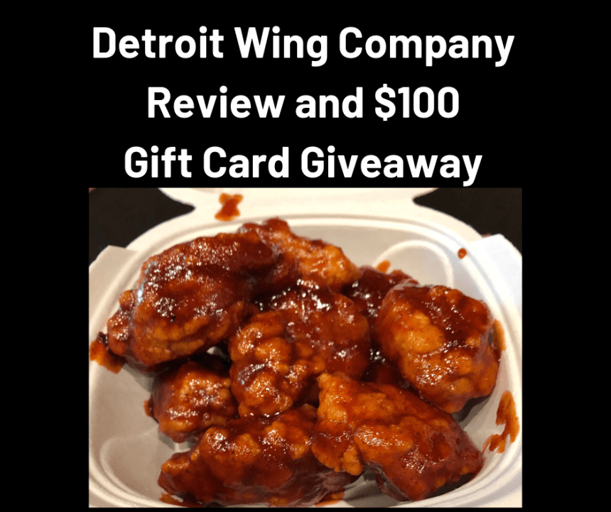 Detroit Wing Company $100 Gift Card Giveaway