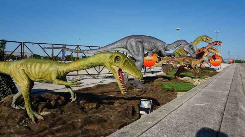 Jurassic Quest Drive Thru at DTE Energy Music Theatre