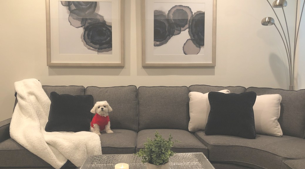 decorating with pets or kids