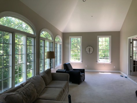 Sun room-Before Redesign