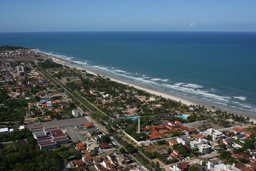 Praia dos Milionários, estrada para Olivença, Ilhéus