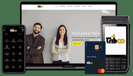 Triboo Fintech Conta Digital, Cartão de Crédito e Maquininha de Cartão