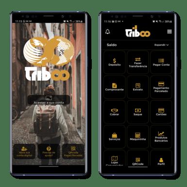 Conta Digital Triboo para smartphone Android