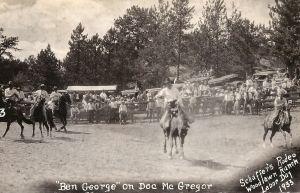 Schaffer's Rodeo Labor Day 1933